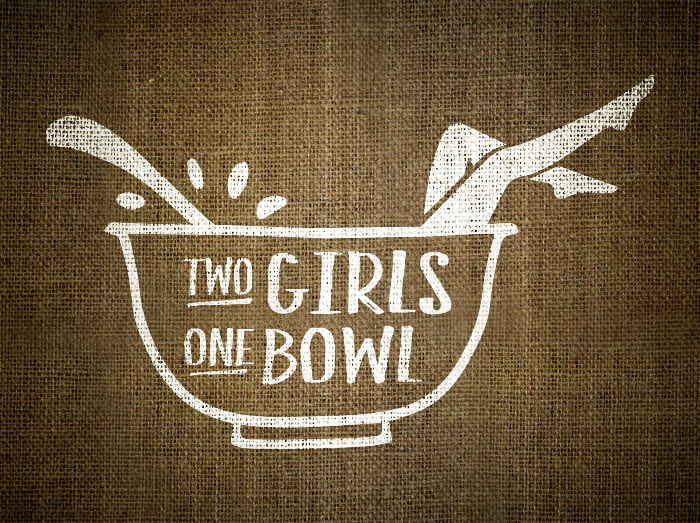 Two Girls One Bowl logo