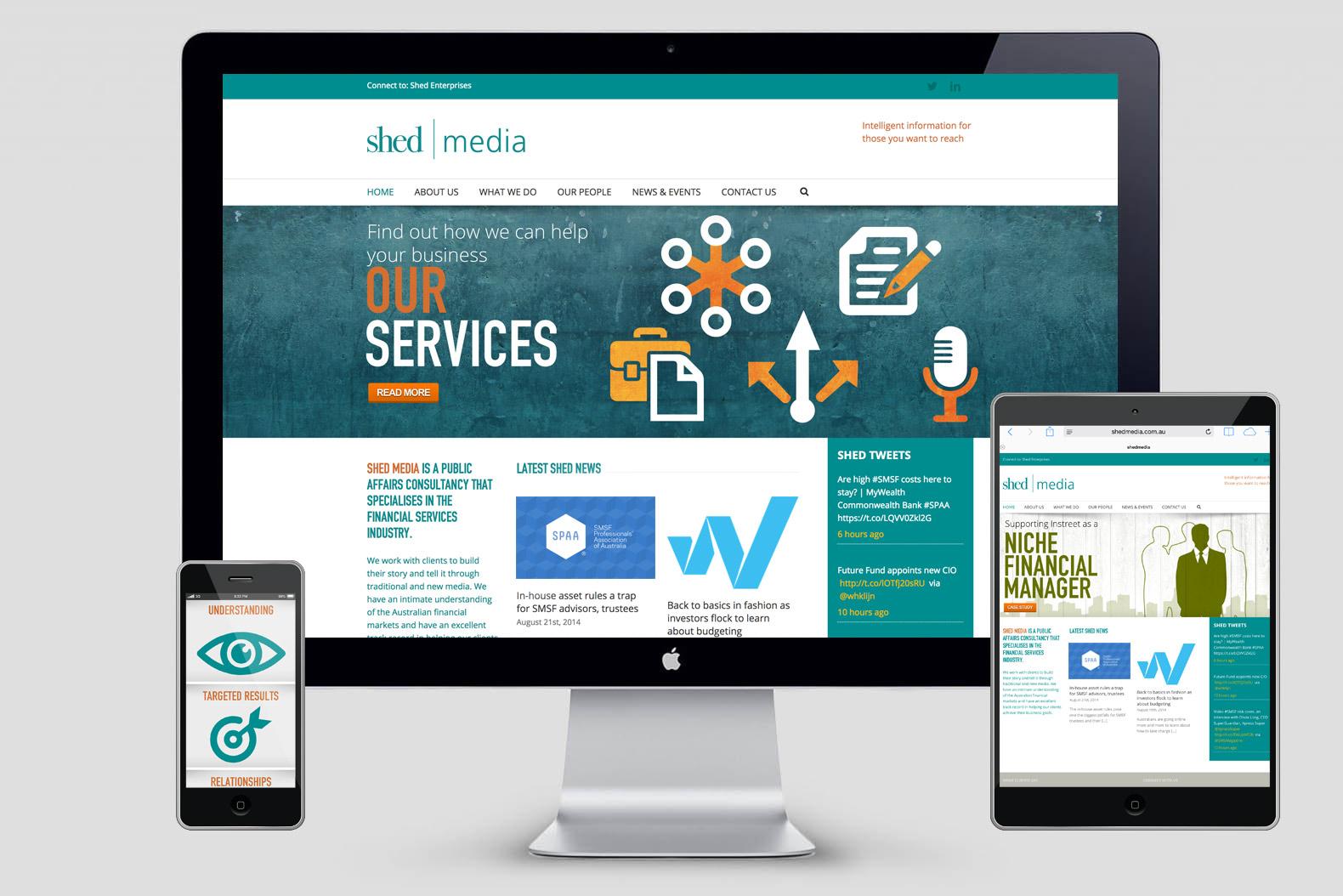 shedmedia wordpress site